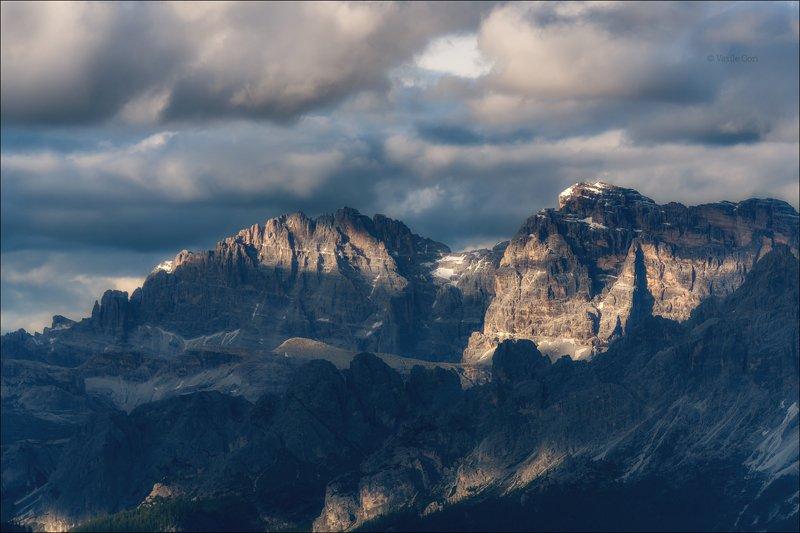 доломитовые альпы,passo giau,лето,италия,alps Тучи сгущались...photo preview