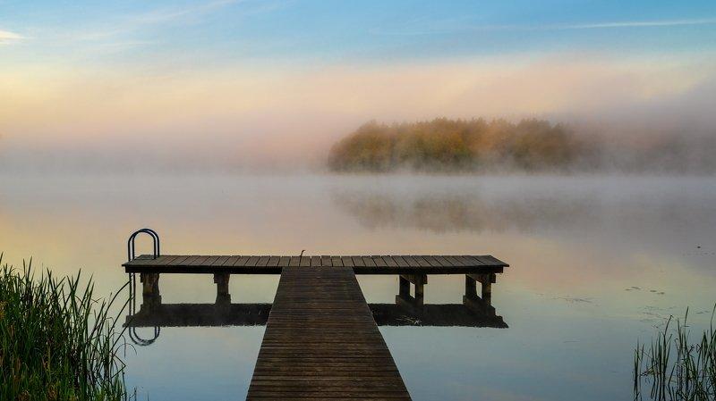 Mgła nad Jeziorem Wieckimphoto preview