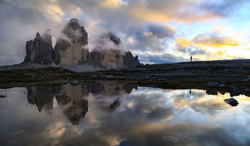Фотограф и три вершиныphoto preview