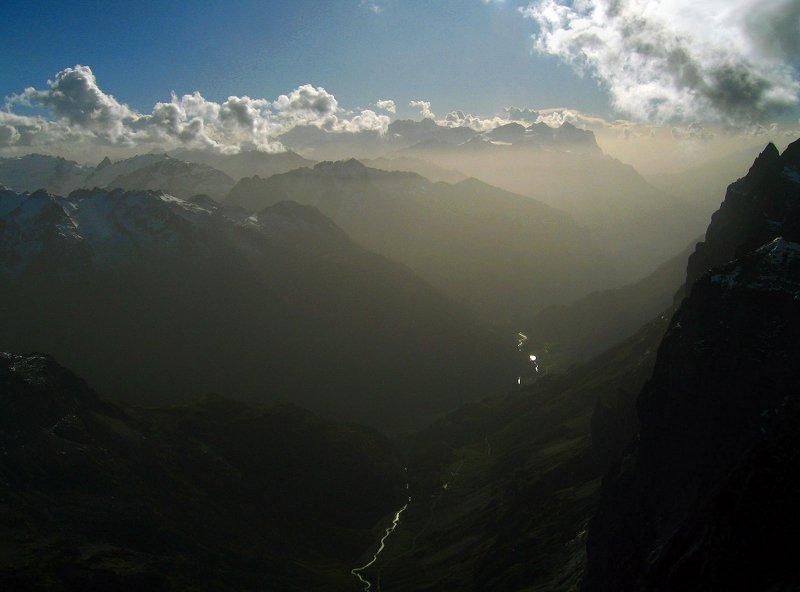 Когда горы становятся прозрачными...photo preview