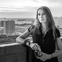Portrait of a photographer (avatar) dark-angel (Sandra Vogel)