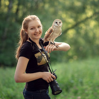 Portrait of a photographer (avatar) Кузнецова Виктория (Victoria Kuznetsova)