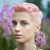Portrait of a photographer (avatar)  Виктория (model) Давыдова (Victoria Davydova)