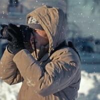 Portrait of a photographer (avatar) савельев евгений (Savelyev Yevgeny Nikolaevich)